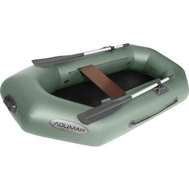 Лодка гребная ПВХ Лоцман С-220 Зеленый