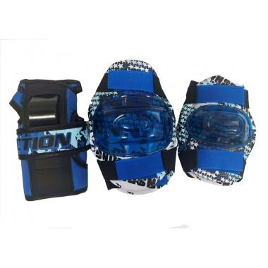 Защита локтя, запястья, колена Action PW-385 р.S