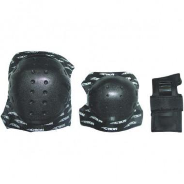 Защита локтя, запястья, колена Action PW-314A р.S
