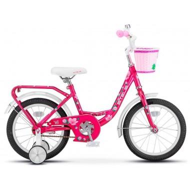 Велосипед детский STELS Flyte Lady 16 (2018) сталь 11 розовый (LU080191)