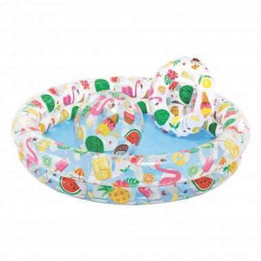 Детский бассейн круглый Intex 59460 (122х25см) 2+