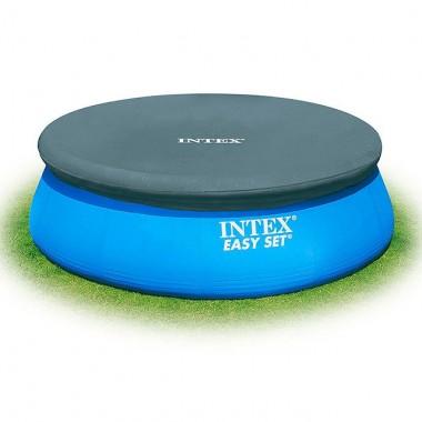 Тент для надувных бассейнов Intex 28026 Pool Cover (396см)