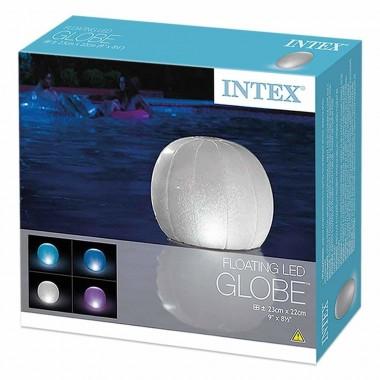 Светильник плавающий для бассейна Intex 28693 Floating LED Ball