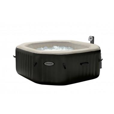 Надувной бассейн джакузи Intex 28456 PureSpa Jet and Bubble Deluxe (218х71см)