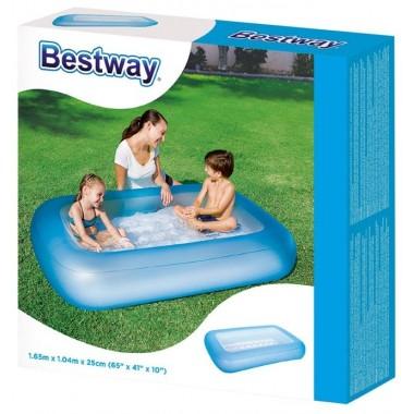Детский прямоугольный бассейн Bestway 51115 (165х104х25см) 102 л