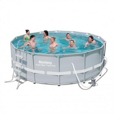 Каркасный бассейн Bestway 56451 (488х122см)