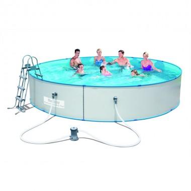 Стальной бассейн Bestway 56386 Hydrium Splasher Pool Set (460х90см)