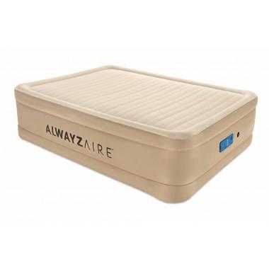 Двуспальная надувная кровать Bestway 69037 Alwayzaire Fortech + насос (203х152х51см)