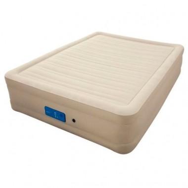 Двуспальная надувная кровать Bestway 69032 Alwayzaire Fortech + насос (203х152х43см)