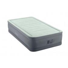 Односпальная надувная кровать Intex 64902 Premaire Elevated Airbed + насос (99х191х46см)
