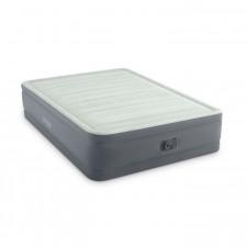 Двуспальная надувная кровать Intex 64906 Premaire Elevated Airbed + насос (152х203х46см)