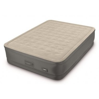 Двуспальная надувная кровать Intex 64926 Premaire II Elevated Airbed + насос (152х203х46см)