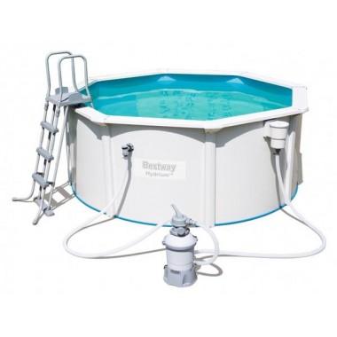 Стальной бассейн Bestway 56566 Hydrium Pool Set (300х120см)