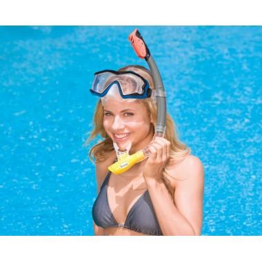 Трубка для плавания Intex 55924 Hyper-Flow Sr Snorkels 8+