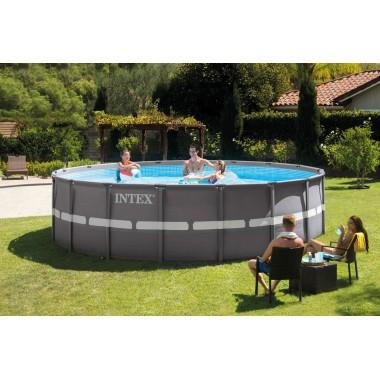 Каркасный бассейн Intex 26330 Ultra Frame Pool (549х132см) + аксессуары