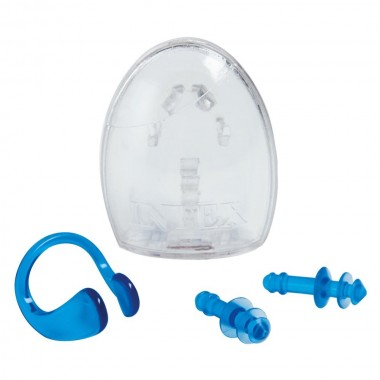 Набор для ныряльщика Intex 55609 Ear Plugs and Nose Clip Combo Set 8+