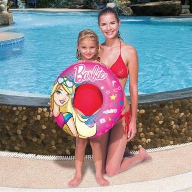 Круг для плавания Bestway 93202 Barbie (56см) 3+