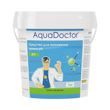 AquaDoctor AQ16984 PH Минус ведро 1кг