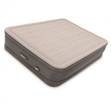 Двуспальная надувная кровать Intex 64770 PremAire Dream Support Bed + насос (152х203х46см)