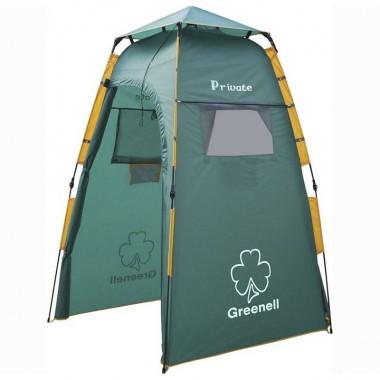 Палатка душ-туалет Greenell Приват v.2 (зеленый)