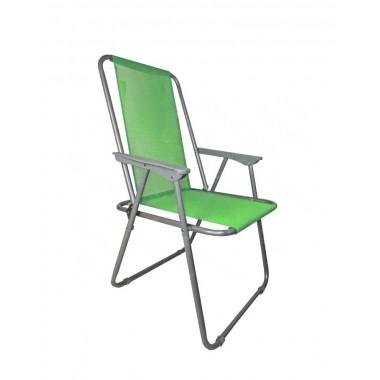 Кресло складное с подлокотниками RK-0134, салатовый