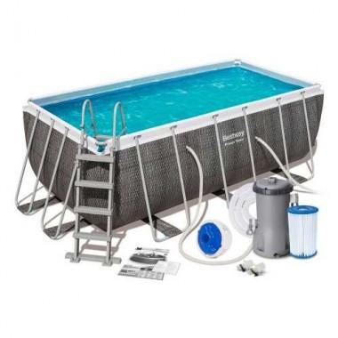 Каркасный прямоугольный бассейн Bestway 56721 (404x201x100см)