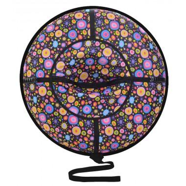 Надувные санки (тюбинг) серия Дизайн с молнией 110 см ВСД/4М
