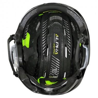 Шлем хоккейный для полевого игрока WARRIOR ALPHA ONE PRO HELMET арт.APH8-BK-M р.M