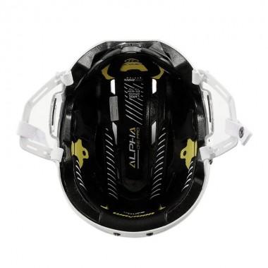 Шлем хоккейный для полевого игрока WARRIOR ALPHA ONE PRO HELMET арт.APH8-WH-L р.L
