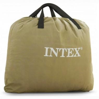 Двуспальная надувная кровать Intex 64478 Thermalux AirBed + насос (152х203х51см)
