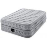 Двуспальная надувная кровать Intex 64490 Suprime Air-Flow + насос (152х203х51см)
