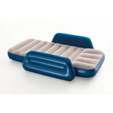 Надувная кровать детская с боковой поддержкой Bestway 67602 (145х76х18см) от 3 до 6 лет