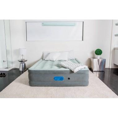 Двуспальный надувной матрас Bestway 67624 Alwayzaire + насос (203х152х46см)