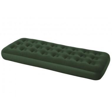Односпальный надувной матрас Bestway 67446 Flocked Air Bed (185х76х22см)