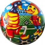 Мяч детский Веселый футбол арт.DS-PP 133 23 см, синий