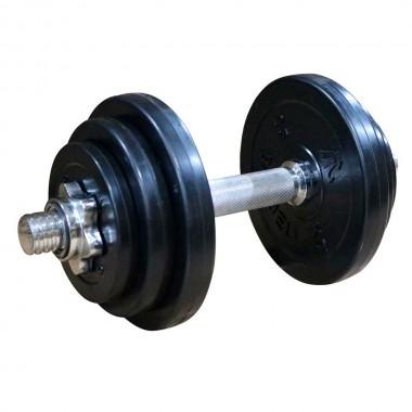 Диск обрезиненный чёрный DFC WP021 d-26 мм 0,5 кг