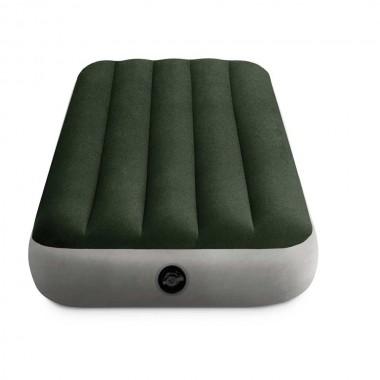 Односпальный надувной матрас Intex 64106 Prestige Downy Airbed With Fiber-Tech (76х191х25см)