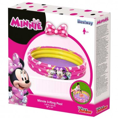 Бассейн детский BestWay 91079 Minnie (122х25см) 2+