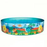 Бассейн ненадувной детский BestWay 55022 Динозавры (183х38см) 2+