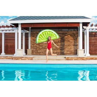 Матрас плавательный надувной BestWay 43246 Тропический Лайм (171х89см)