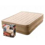 Двуспальная надувная кровать Intex 64428 Ultra Plush Airbed With Fiber-Tech + насос (152х203х46см)