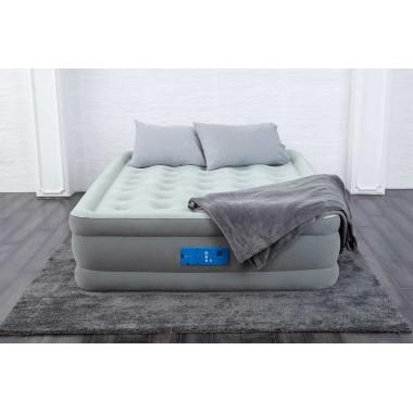 Двуспальная надувная кровать Bestway 67706 Alwayzaire + насос (203х152х46см)