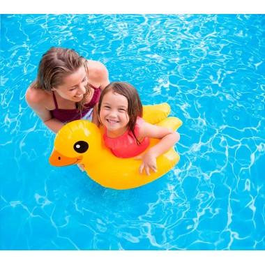 Круг для плавания раздвижной Intex 59220 (от 3-6 лет) утёнок