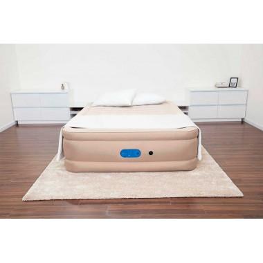 Двуспальная надувная кровать Bestway 69054 Alwayzaire Fortech + насос (203x152x51cм)
