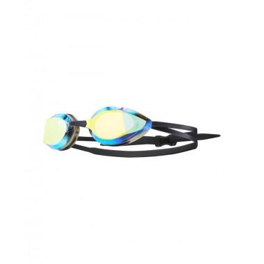Очки для плавания TYR Edge-X Racing Nano Mirrored, LGEDGNM/751, оранжевый