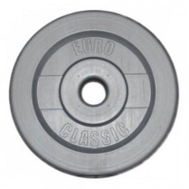 Диск для штанги виниловый d-26 мм 2 кг