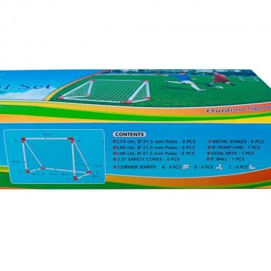 Ворота игровые DFC mini х 2 & набор пластик GOAL7219A