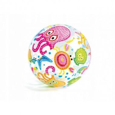 Надувной мяч Intex 59040NP Lively Print Ball (51см, 3+) осьминог