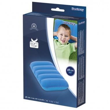 Подушка надувная Bestway 67485 (38x24x9 см) синий