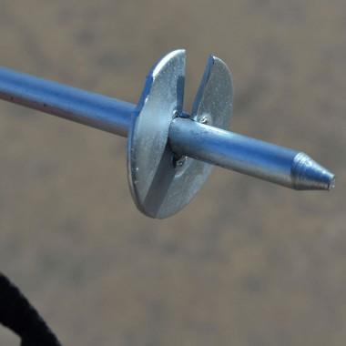 Анкер крепления батута DFC к земле ANCHOR-BG, универсальный